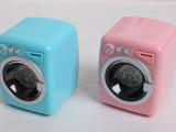 香港HOMADE品牌创意洗衣机造型闹钟(三色可选)