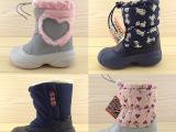 外贸原单 儿童棉鞋潮冬季男童女童雪地靴儿童雪地靴宝宝棉鞋 冬鞋