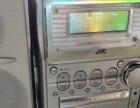原装JVC组合音响CD/ MD/ 卡带 遥控器、说明书