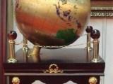 立式西安开业大摆件乔迁贺礼,纯铜地球仪校庆图书馆摆放