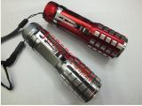 迷你伸缩手电筒 LED强光手电筒 自行车灯 户外用品