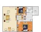 磬云大市场2室1厅1卫1阳台高档家私电,设施完善