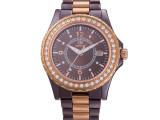 厂家直销 高档品牌手表时尚韩版商务表微商一手货源陶瓷手表女款
