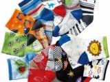 (崽崽袜)卡通图案点胶防滑婴儿袜 宝宝袜 童袜 短筒袜[货号W6