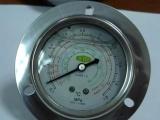 60MM 1.8MPA轴向冷媒压力表