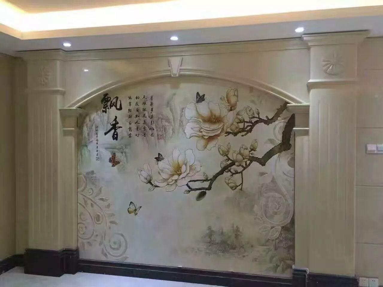 南昌盛福香江门市,电视背景墙壁纸优势介绍