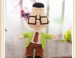 毛绒玩具公仔 经典动画正版大头儿子和小头爸爸 厂家订制生产