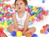 儿童彩球海洋球波波球彩色球玩具球帐篷6CM户外儿童玩具生日礼物