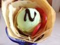 现在卖的最火的小吃 特色小吃培训手握卷饼 送粥品