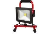 LED充电投光灯手提移动应急照明警示灯抢修作业灯钓鱼5W10W2