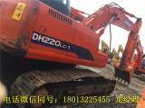 斗山DH220-7中型二手挖掘机转让包运输手续全