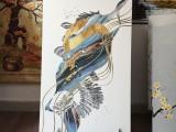 内蒙古5D玻璃背景墙uv打印机维护专业技巧