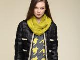 2014秋冬新款女士加厚加长围巾 羊绒脖套 针织保暖羊毛围脖