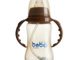 婴儿pp纳米银抗菌标口180ml品牌母婴用品一件代发加盟批发代理