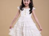 夏季童装 时尚女童韩版连衣裙 爆款儿童公主裙 中大童 外贸原单