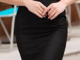 修身包臀裙职业裙半身裙包裙短裙子一步裙职业中裙半裙夏