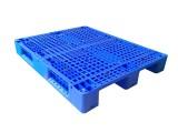 山東塑料托盤廠家 貨架立體庫專用托盤1210川字網格塑料托盤