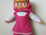 俄罗斯玩具爆款 外贸原单俄文音乐玛莎俄文智能对话娃娃电动玩具