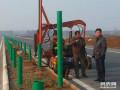 公路打桩机租赁 钻孔机租赁护栏板安装琦耀机械设备租赁公司