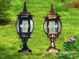 德安厂家直销 户外灯具:欧式围墙灯,欧式柱头灯,立柱灯