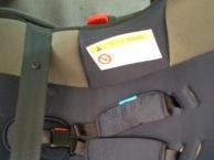 小龙哈彼婴儿床送凉席,背带及汽车安全提篮