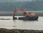 贵阳市西峰区水上清淤挖掘机出租服务品质高