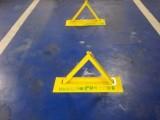 上门安装车位锁地锁三角架停车地档