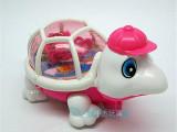 创意拉线发光乌龟爬龟 宝宝儿童幼儿园玩具摆地摊热卖礼品批发