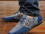 夏季新款男士帆布鞋休闲男鞋韩版时尚透气运动板鞋低帮单鞋