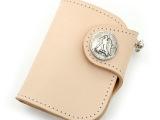 RM短钱包 头层植鞣牛皮钱包 财布 手工 外贸订单