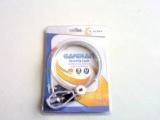 爆款钥匙带扣铝合金电脑防盗锁 笔记本钥匙带扣安全锁1.2米