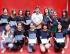 济南人像摄影化妆学校毕业典礼