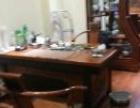 红木办公书桌 书架