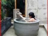 泡澡缸1米1.1米1.2米极乐汤温泉陶瓷泡澡洗浴大缸景德镇