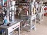 供应二人操作750ml罐装发泡胶灌装设备及配方