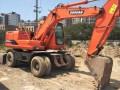 斗山挖掘机 斗山150轮式挖掘机 性能如图!