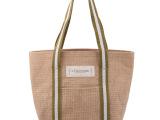 供应优质束口麻布袋子 手提环保购物袋定做 帆布购物袋批发