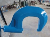鉚接汽車大梁冷鉚機 鉚弓泵站分體設計,鉚弓可現多角度鉚接