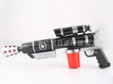 新款热销神偷奶爸3D投影电动枪 带灯光音乐语音枪 儿童投影玩具