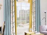 崇文花市大街窗帘定做富贵园窗帘安装裕京布艺