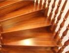 别墅柚木高档楼梯 上海弧形别墅大楼梯 原木楼梯木门工厂