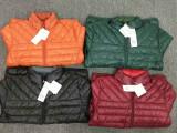 红豆新款纯男轻薄羽绒服,一款4色,黑色和酒红色都是金典款