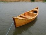光华木船/供应欧式手划船景区观光船装饰船