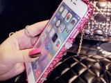 T222苹果6金属边框iPhone6 plus水钻边框 5s金属