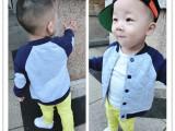 2014春秋新款 男女童外套儿童棒球服立领夹克外套韩版上衣潮