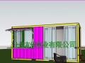 新旧集装箱改造住人箱 活动房屋装修 二手海运集装箱现货供应