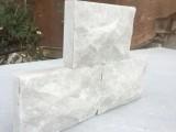 白石英蘑菇石厂家 白石英蘑菇石价格 河北白色蘑菇石