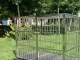 狗笼不锈钢狗笼子小号中号大号特大号阿拉金毛泰迪宠物笼