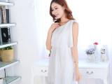 2014夏季新款韩版孕妇装外出哺乳衣 薄款时尚蕾丝哺乳连衣裙