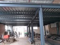 专业钢结构隔层二层阁楼搭建混凝土浇筑楼板别墅扩建彩钢房制作
